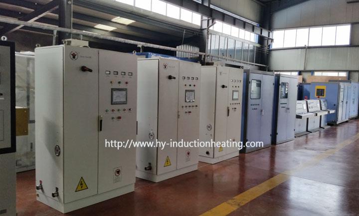 metal induction heat treatment machine