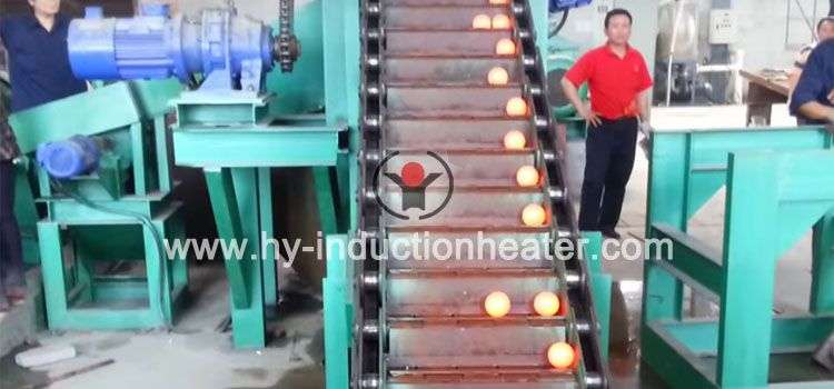 grinding ball production system