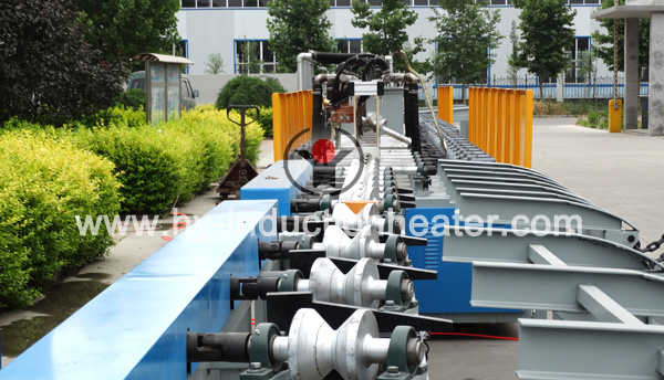 grinidng rod heat treatment line