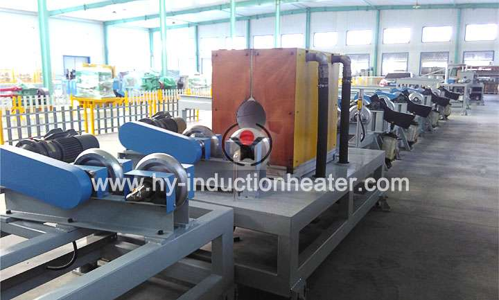 Induction annealing furnace