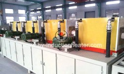 Induction bar heating furnace