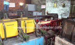 Induction billet heating