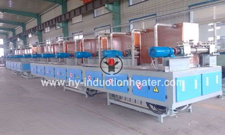 Induction billet heating furnace