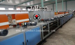 induction hardening and tempering machine