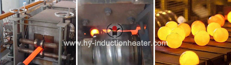 induction heating bars for hot rolling