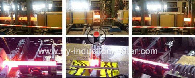 induction heating billet for rolling