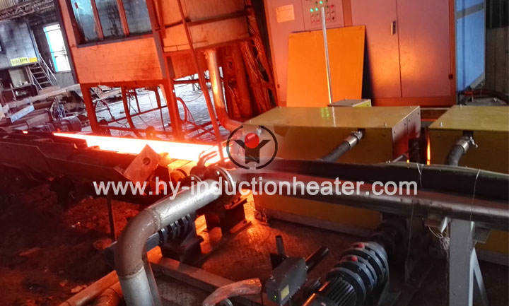 Induction heating billet