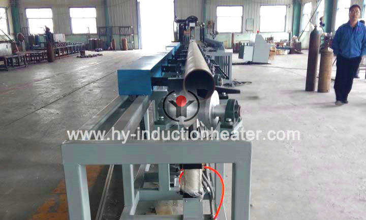 Induction pipe heater