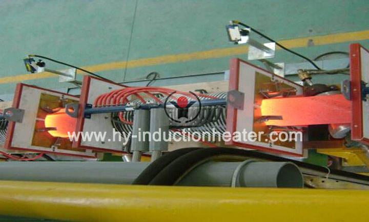 Induction rod heating