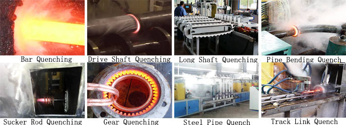 induction surface hardening machine