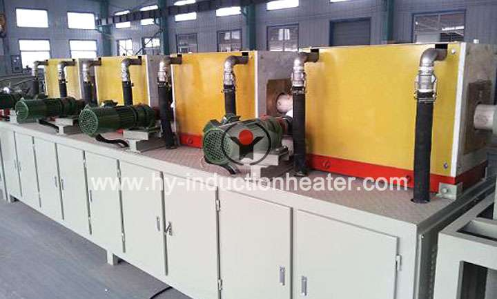 Induction tempering furnace