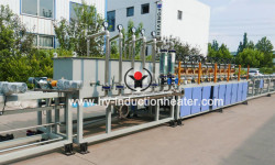 long bar hardening and tempering production line