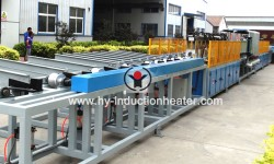 Long bar heat treatment machine