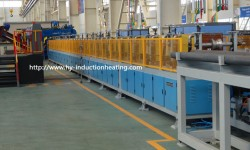Bar induction heating machine for forging