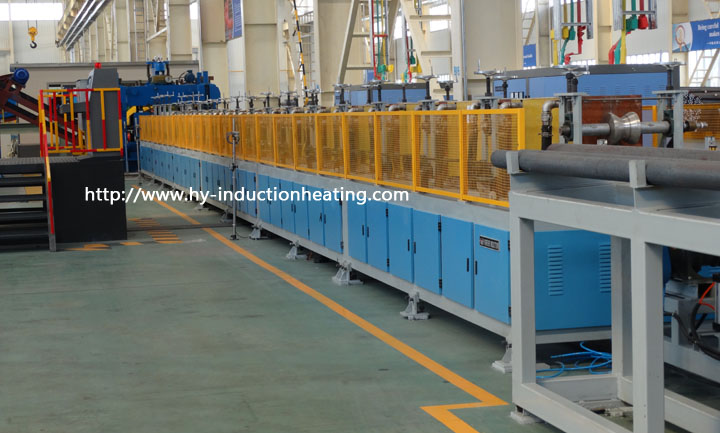 long bar heating machine