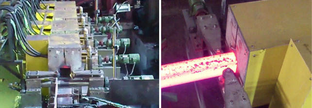 Slab induction heating