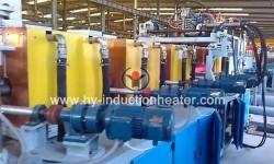 Oil casing heat treatment furnace