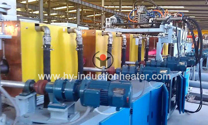 Oil casing heat treatment furnace