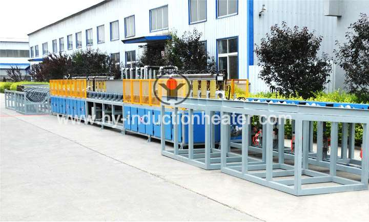 Pipe heating equipment