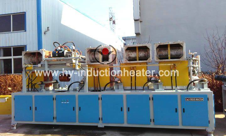 Pipe heating induction furnace
