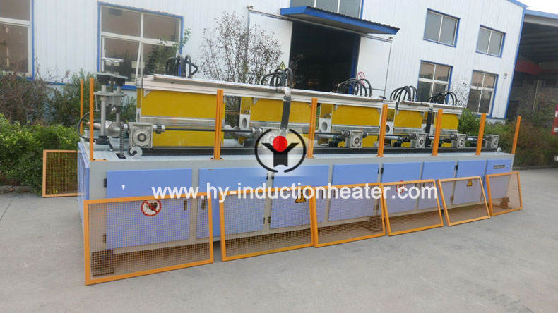 pipe induction heat treatment machine