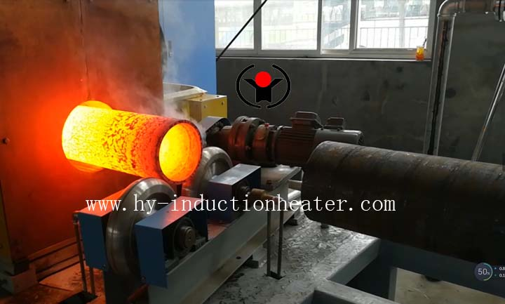 pipe induction heating furnace