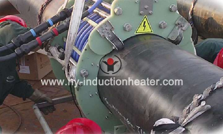 Pipeline heat treatment equipment