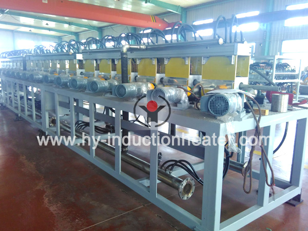 rebar hardening and tempering line