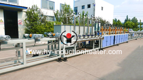ribber bar hardening and tempering line