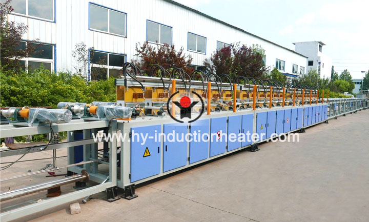 Ribber bar hardening and tempering