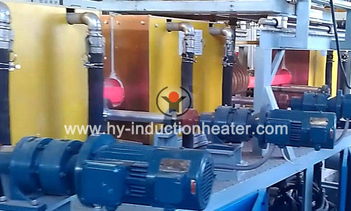 Rod heat treatment