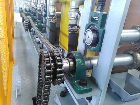 rod heating for hot rolling