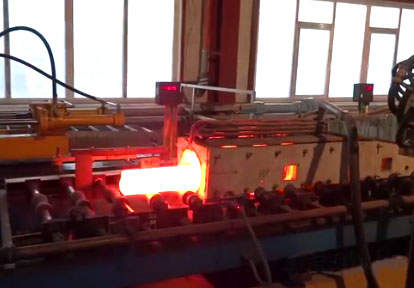 round bar forging furnace