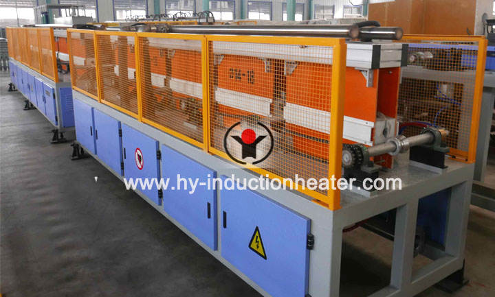 Short bar hardening and tempering production line