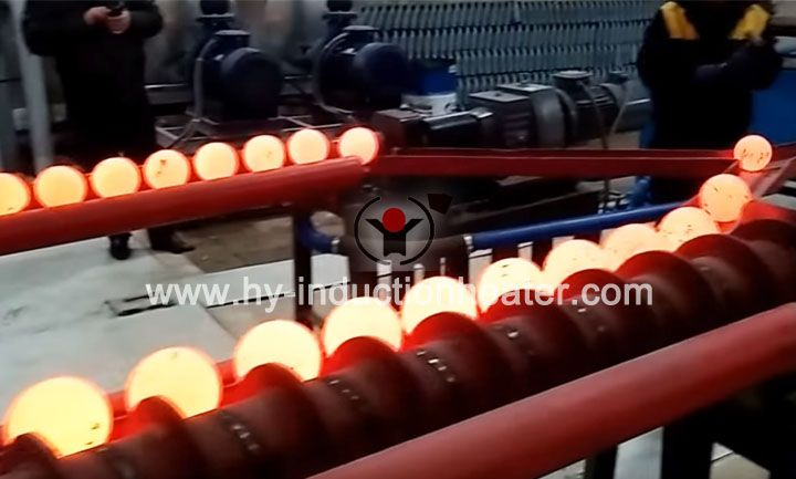 Steel ball hot rolling production line