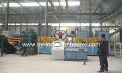 Skew rolling steel ball equipment