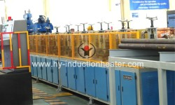 Steel ball skew rolling production line