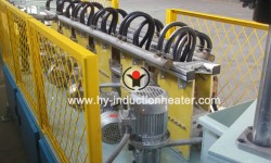 Steel bar hardening furnace