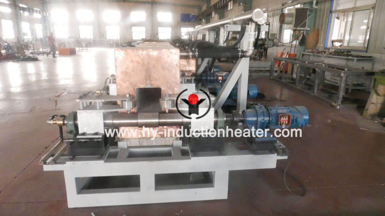 steel billet continuous casting and rolling heating