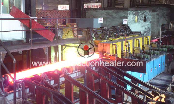 Steel billet hot rolling production line
