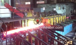 Steel billet induction heating equipment