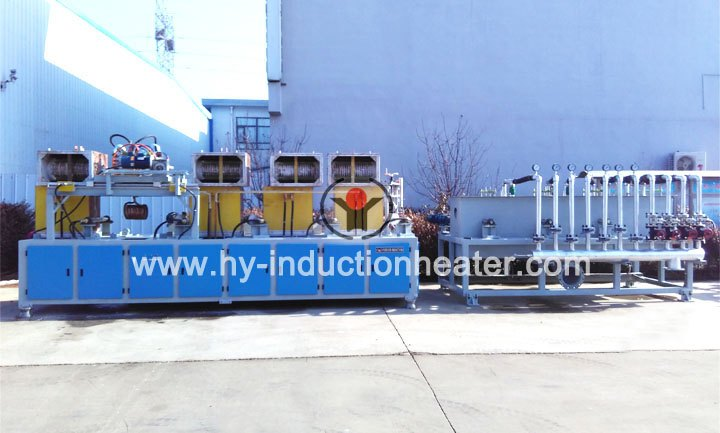 Steel pipe hardening furnace
