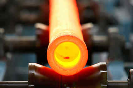 steel pipe heating for rolling