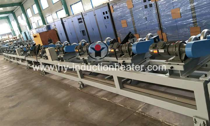 Steel pipe normalizing line