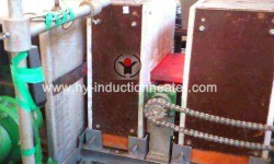 Steel plate heat treatment