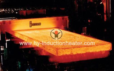 steel plate heating for rolling