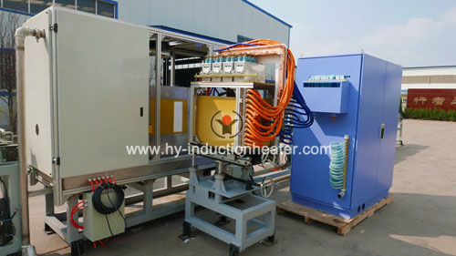 suction rod hea treatment line
